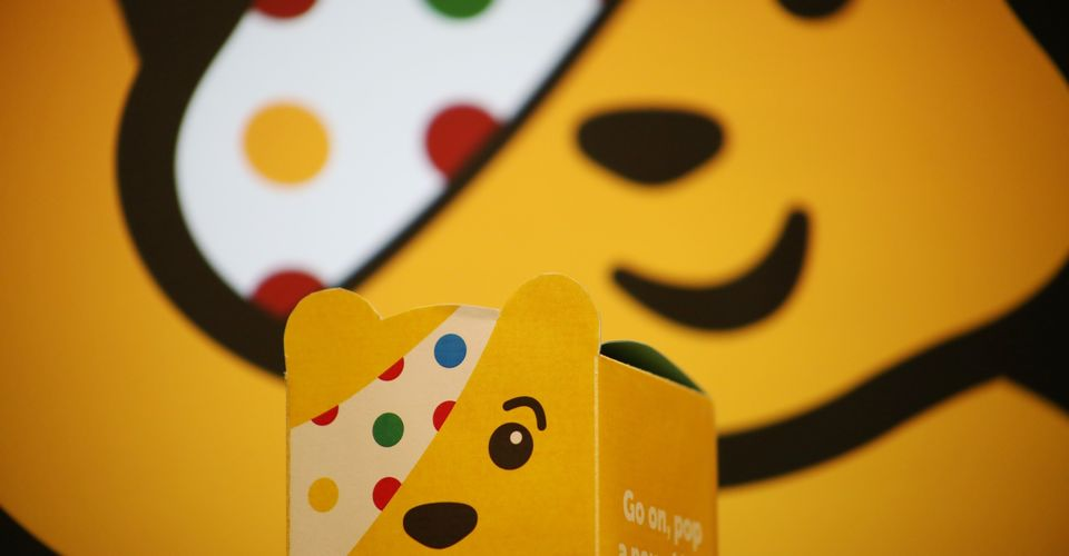 Hello Pudsey Bear!