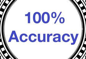 100% Accuracy