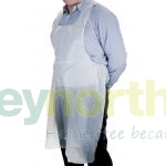 White Aprons on a roll - Premium Brand