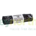 Black Refuse Sacks on a Roll - 140 gauge