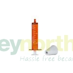 Amber Oral Syringes - 10ml