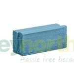 Blue C-Fold Hand Towel - 1 ply