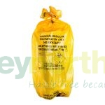 Yellow Clinical Waste Sacks - 12kg