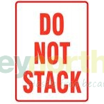 Status® Do Not Stack Labels