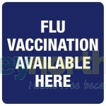 Status® Labels - Flu Vaccination Available Here