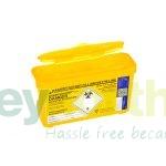 Sharps Bins - 1 Litre Yellow Lid