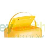 Sharps Bins - 35 Litre With Yellow Lid