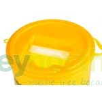 Sharps Bin - 5 Litre With Yellow Lid