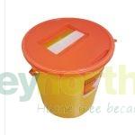 Sharps Bins - 22 Litre With Orange Lids