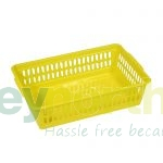 Plastic Baskets Small - Yellow