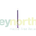 Purple Syringes - Baxa Brand 1ml