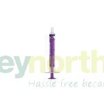 Purple Syringes - Baxa Brand 3ml