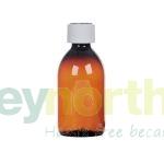 Pharmasafe® Amber PET Ready Capped Bottles - 250ml