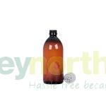 Pharmasafe® Amber PET Ready Capped Bottles - 500ml